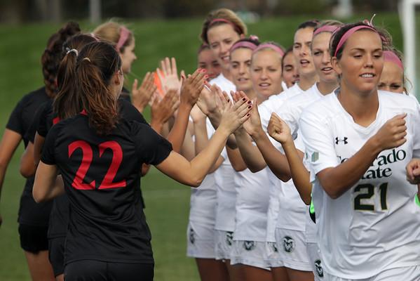CSU vs. SDSU Soccer 2014