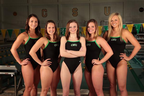 CSU Swimming 15 Seniors