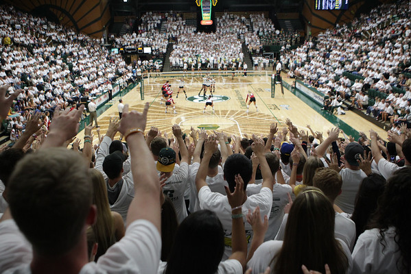 CSU vs. Wisconsin VB 2014