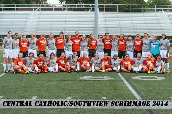 Central Catholic Scrimmage 12 Aug 2014
