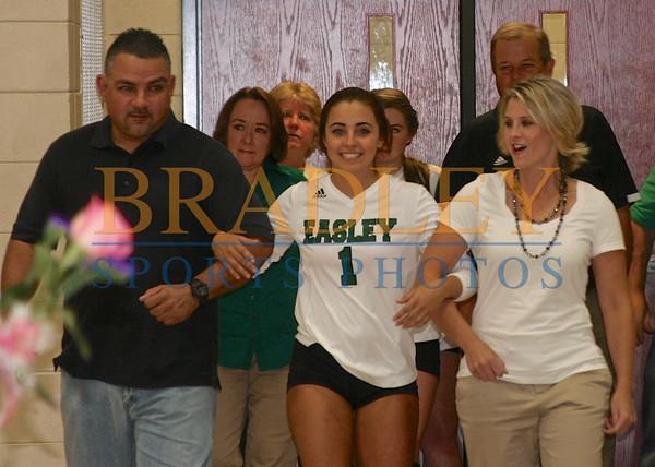 2014: Easley Senior Night