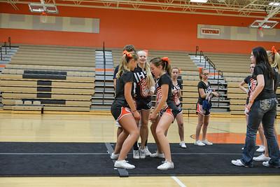 2014 IHS cheer squad