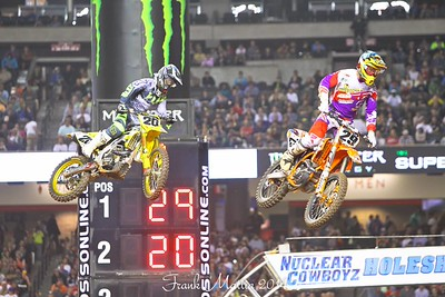 Supercross at the Georgia Dome.