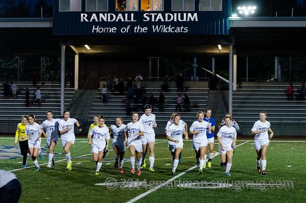 2014 Girls Varsity Soccer vs. Sandy