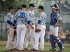 High School Varsity Baseball, Section IV, Class AA Semifinal.  Horseheads Blue Raiders at Corning Hawks. May 27, 2014.