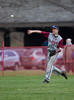 High School Varsity Baseball. Elmira Express at Corning Hawks. April 26, 2014.