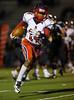 High School Varsity Football.  Binghamton Patriots at Corning Hawks. October 10, 2014.