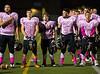 High School Varsity Football.  Union-Endicott Tigers at Corning Hawks. October 17, 2014.