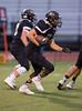 High School Varsity Football. Windsor Black Knights at Corning-Painted Post Hawks. September 12, 2014.