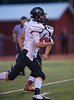 High School Varsity Football.  Corning Hawks at Ithaca Little Red.  September 19, 2014.