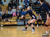 Girls High School Varsity Volleyball. Suffern Mountain Lions vs Corning Hawks at Corning Community College. November 4, 2014.
