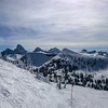 Tetons from Grand Targhee Vista Traverse