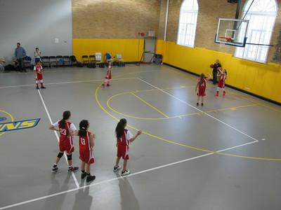 2014-Lady Hawks - Mia basketball team