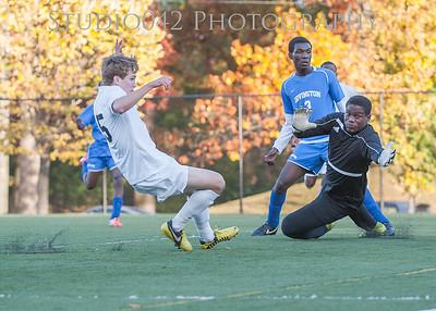 10-29-2014 MHS Boys V. Soccer V Irvington