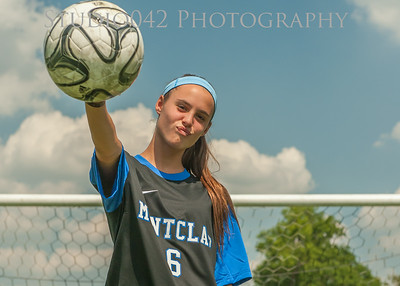 2014 MHS Girls Soccer Team and Head shots