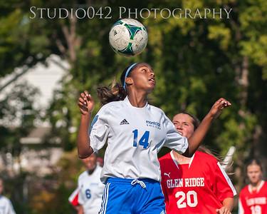9-20-2014 MHS JV-Girls Soccer v Glen Ridge