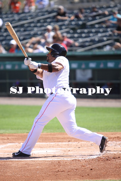 Rafael Furcal of the Miami Marlins takes a swing