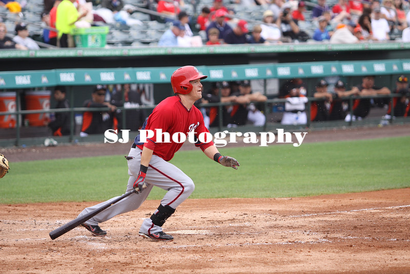Nate McLouth of the Washington Nationals