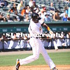 Adeiny Hechavarria of the Miami Marlins about to hit the ball