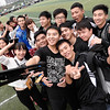 "2014 NFL Home Field Guangzhou - Week 8 -  ""#Selfie"" Flag football players and spectators celebrate as they prepare for the University Flag Football League (UFFL) City Finals next week at NFL Home Field Guangzhou."