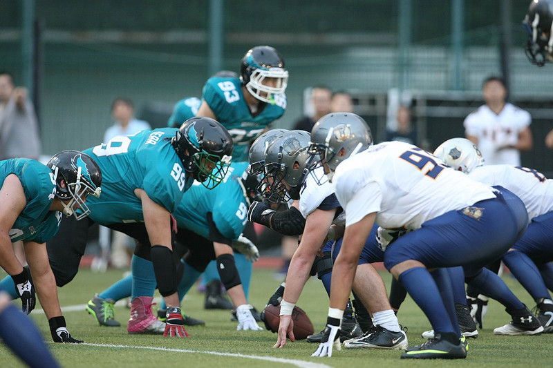 2014 NFL Home Field Shanghai - Week 2 - Hangzhou Ospreys face off against the Shanghai Titans