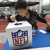 2014 NFL Home Field Shanghai - Week 7 - Visitors who bring their ticket with them to the NFL Home Field have a chance to win a prize in the lucky draw of the day.