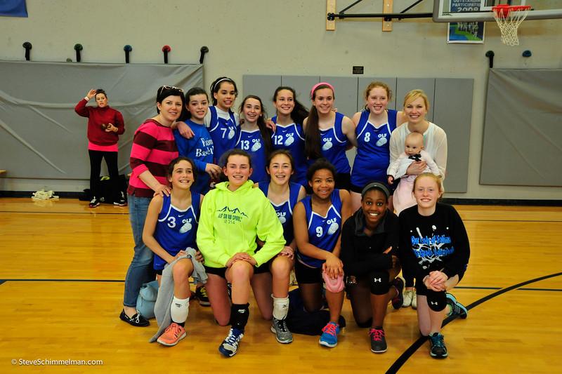 2014 OLF 7th Grade Girls AAA CYO Volleyball Team