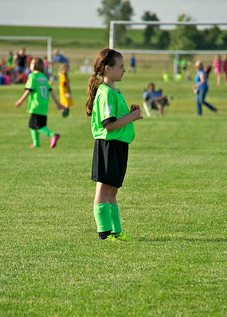 2014 Riley Playing Soccer