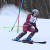 RYAN HUTTON/ Staff photo. <br /> Andover's Maria Cortner takes on the giant slalom during the 2014 Girls Interscholastic Race at Bradford Ski Area.