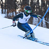 RYAN HUTTON/ Staff photo. <br /> Andover's Jake Tarricone speeds down the giant slalom during the 2014 Girls Interscholastic Race at Bradford Ski Area.