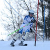 RYAN HUTTON/ Staff photo. <br /> Andover's Julia Pakey takes on the giant slalom during the 2014 Girls Interscholastic Race at Bradford Ski Area.