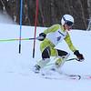 RYAN HUTTON/ Staff photo. <br /> Andover's Sylvia Leung navigates the giant slalom during the 2014 Girls Interscholastic Race at Bradford Ski Area.