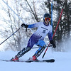 RYAN HUTTON/ Staff photo. <br /> Andover's Meghan Farrell navigates the giant slalom during the 2014 Girls Interscholastic Race at Bradford Ski Area.