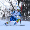 RYAN HUTTON/ Staff photo. <br /> Andover's Olivia Lawler navigates the giant slalom during the 2014 Girls Interscholastic Race at Bradford Ski Area.