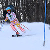 RYAN HUTTON/ Staff photo. <br /> Andover's Jackie Drew takes on the giant slalom during the 2014 Girls Interscholastic Race at Bradford Ski Area.