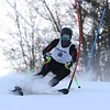 RYAN HUTTON/ Staff photo. <br /> Andover's Bryce Jenkins takes on the giant slalom during the 2014 Girls Interscholastic Race at Bradford Ski Area.