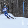RYAN HUTTON/ Staff photo. <br /> Andover's Jason Grosz tackles the giant slalom during the 2014 Girls Interscholastic Race at Bradford Ski Area.