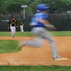 CARL RUSSO/Staff photo. Georgetown high defeated Boston International 12-1 in baseball tournament action on Wednesday. Georgetown's Ryan Slack sprints around first base. 6/4/2014.