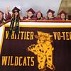 CARL RUSSO/Staff photo. GAZETTE: Whittier graduates get ready for their ceremony. Whittier Regional Vocational Technical High School held its graduation ceremony Thursday night. 5/29/2014.
