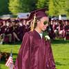 CARL RUSSO/Staff photo. GAZETTE: Whittier graduate receives her diploma.  Whittier Regional Vocational Technical High School held its graduation ceremony Thursday night. 5/29/2014.