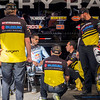 James Stewart confers with techs - 18 Jan 2014