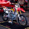 Eli Tomac's Honda - 18 Jan 2014