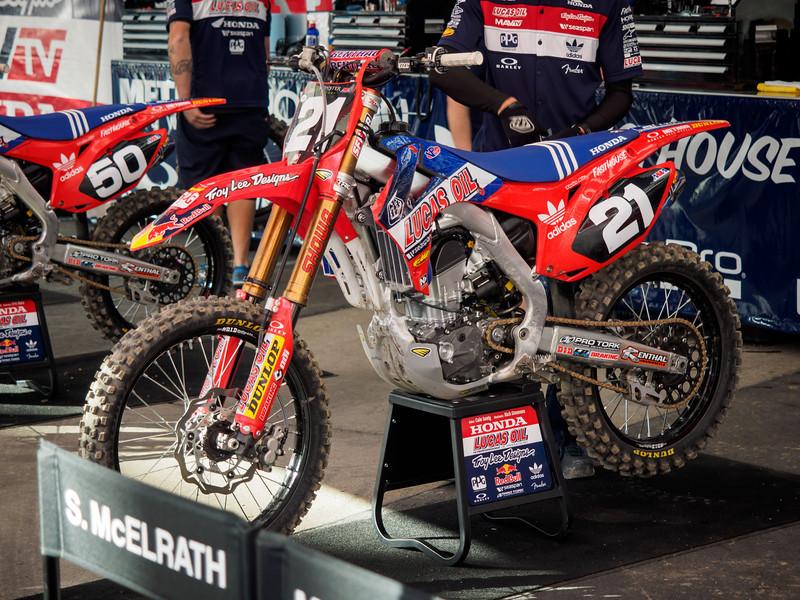 Cole Seely's Honda - 18 Jan 2014