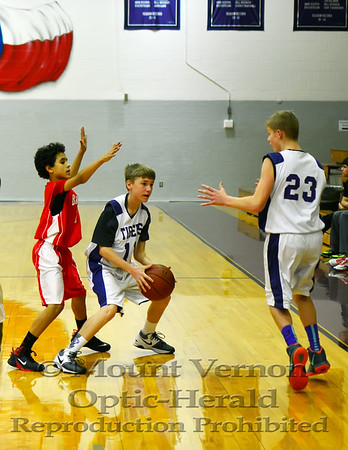 2014 Junior High 8 grade basketball