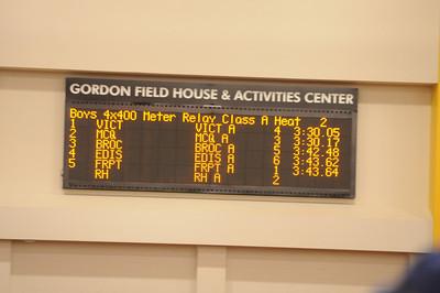 2014 Track Sectionals (Indoor)