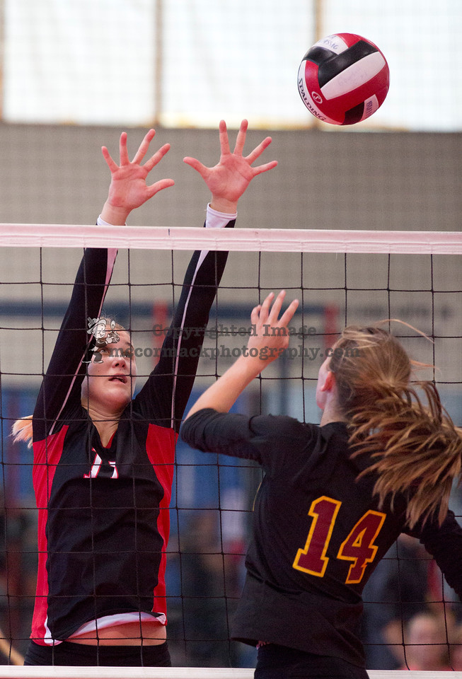 2014: This photograph was taken during Troy High's non-league volleyball schedule. Photo  jim.mccormack@mac.com