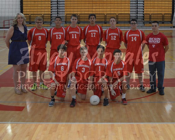 2014 Tucson Boys Volleyball Team