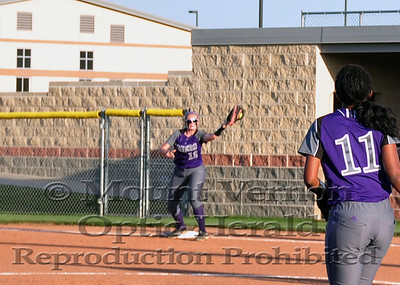 Game 1 Lady Tigers vs Commerce Lady Tigers 5-2-14