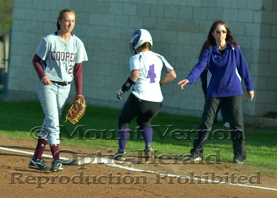 Varsity Lady Tigers vs Cooper Lady Bulldogs 4-4-14