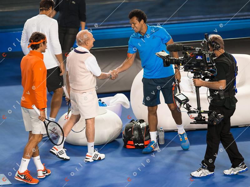 Roger Federer and Friends